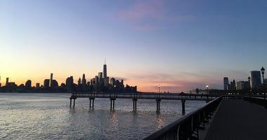 Hudson River from Hoboken