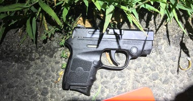 Teenagers gun