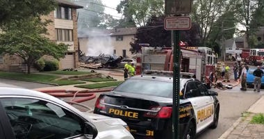 New Jersey home explosion