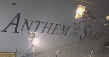Cruise Ship Bayonne