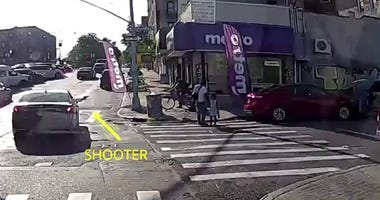 Bronx shooting video