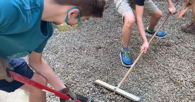landscaping teens