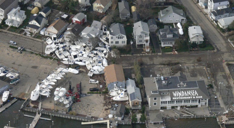 Aftermath of Superstorm Sandy