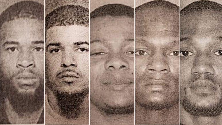 NJ football shooting arrests