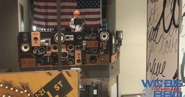 DJ Mika At Lower Manhattan McDonald's