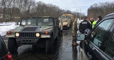 National Guard In Rockland