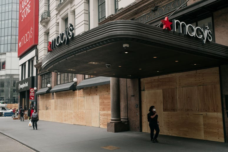 Macy's After Looting