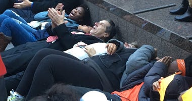 Gov. Andrew Cuomo During National Walkout Day
