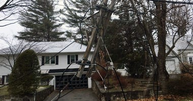 Downed Power Line in New Rochelle