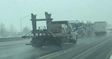 Traffic On Long Island Expressway