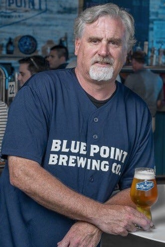 Mark Burford, Co-Founder of Blue Point Brewing Co.