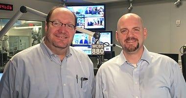 Michael Wallace and Steve Scott