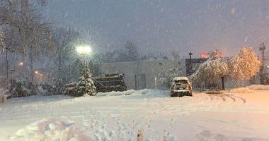 Millburn, New Jersey Snow
