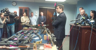 Suffolk County DA Tim Sini Announces Patchogue Illegal Gun Bust