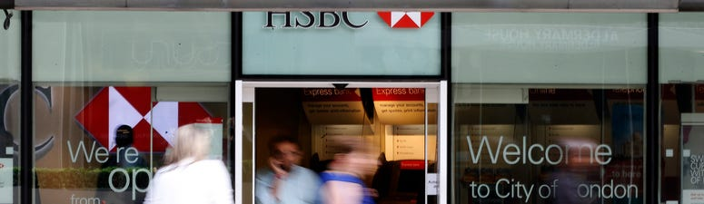 HSBC says net profit plunged 96% in 2Q as pandemic took hold
