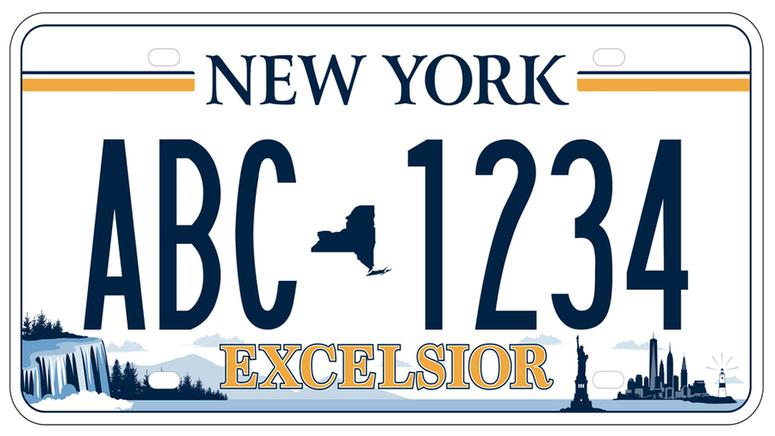 Winning License Plate Design