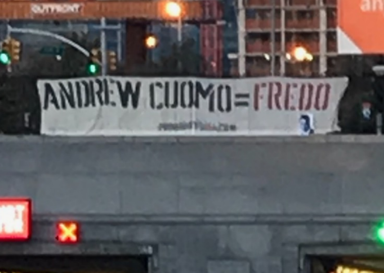 Proud Boys banner