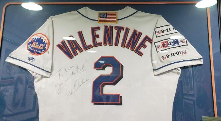 Bobby Valentine's 9/11 Jersey