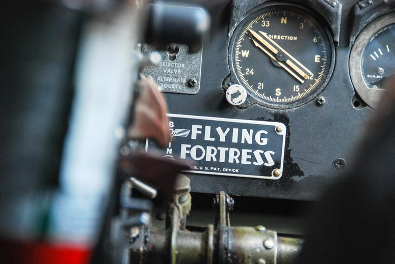 Vintage B-17 Flying Fortress