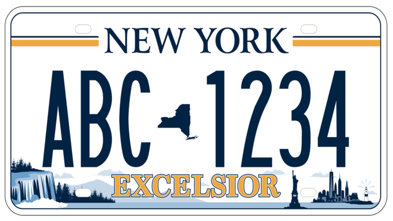 Winning License Plate Design