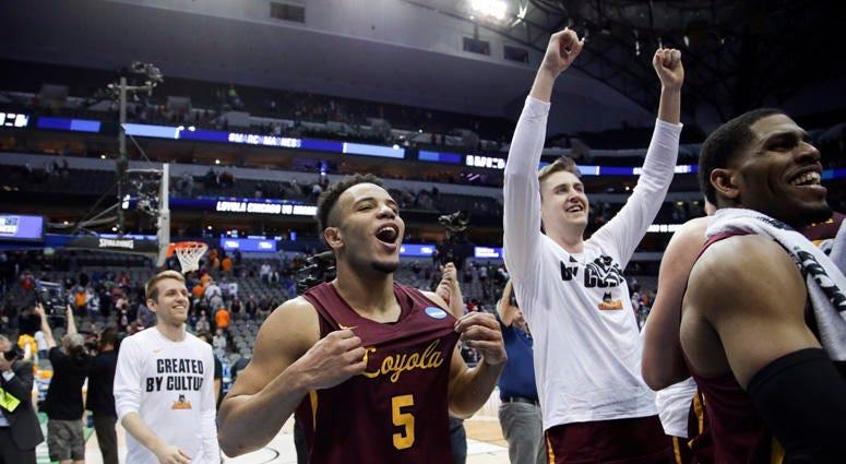 Loyola University Chicago Wins