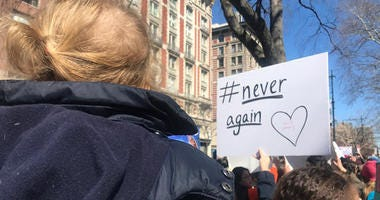 March for Our Lives rally in New York City