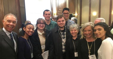 AITE Students At WCBS Small Business Breakfast