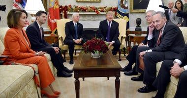 Pelosi Trump Oval Office