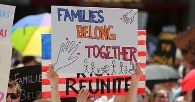 Families Belong Together Protest