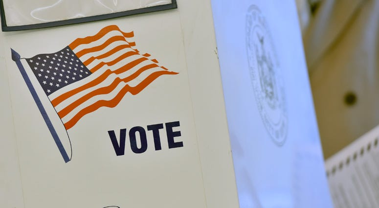 New Yorkers Hit Polls To Vote During MIdterm Elections