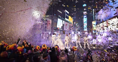 Times Square on New Year's Eve