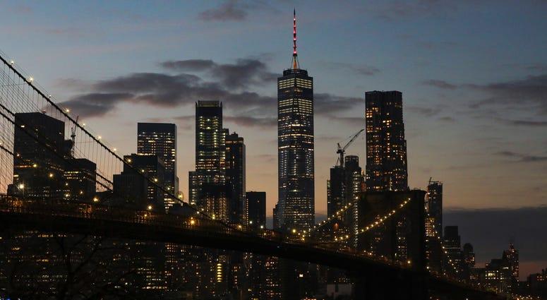 World Trade Center, lower Manhattan