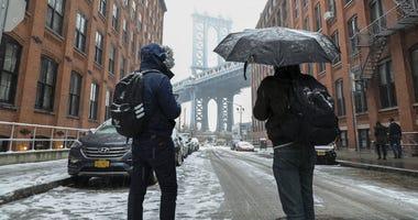 NYC Brooklyn Snow