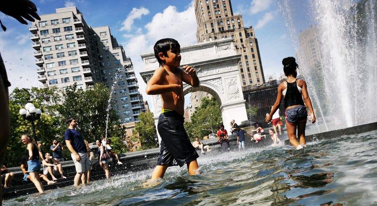 Heat wave New York City