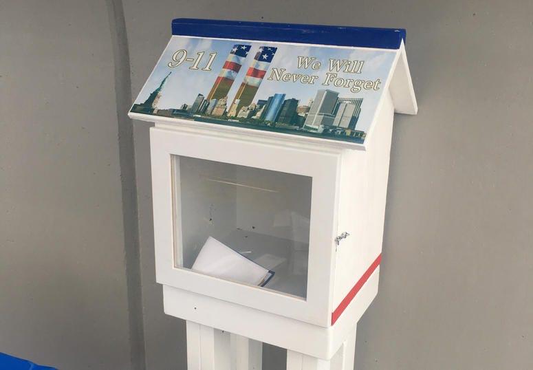 9/11 memorial memory box