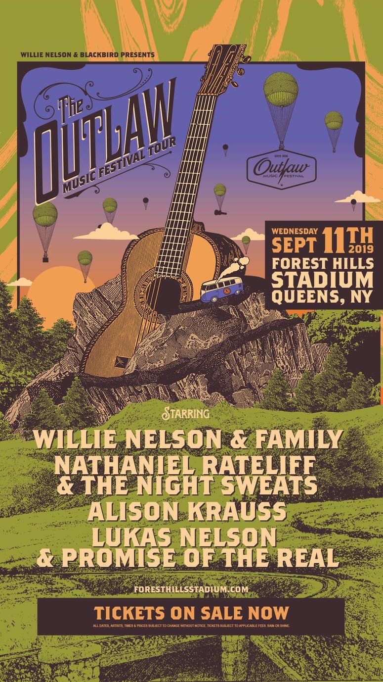 Willie Nelson - Outlaw Festival 2019