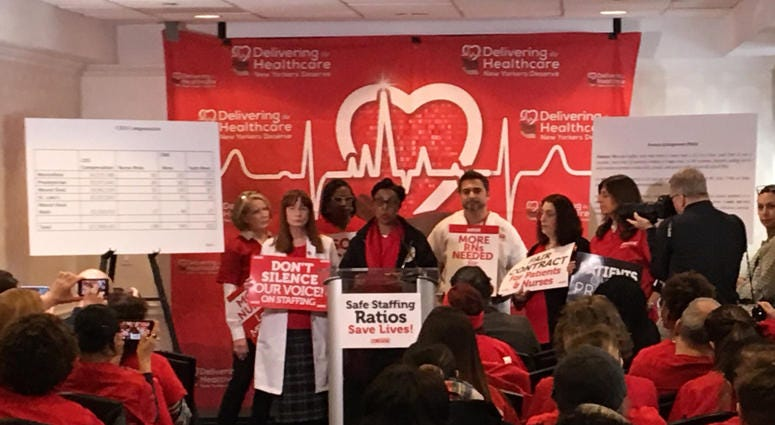 New York City Nurses Authorize Strike