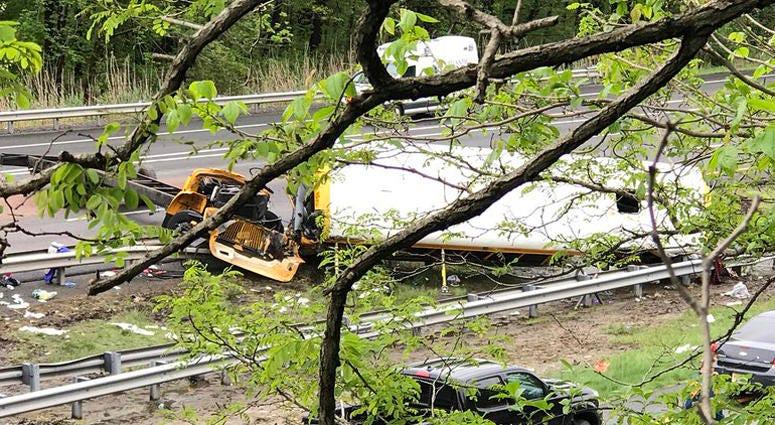 New Jersey School Bus Crash