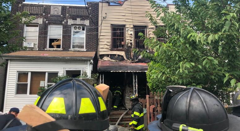 Queens house fire