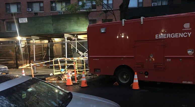 Con Edison power repairs in Queens