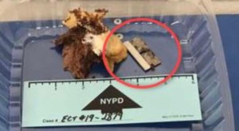 NYPD razor sandwich