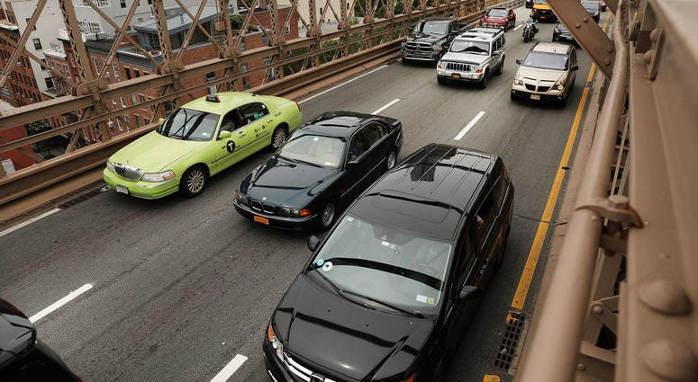 Taxis Brooklyn Bridge