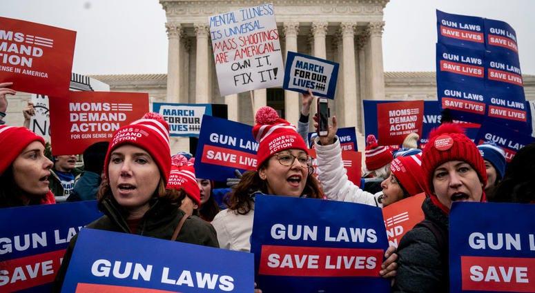SCOTUS Gun Protest
