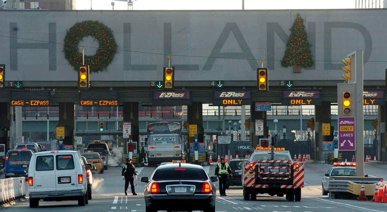 Holland Tunnel decorations