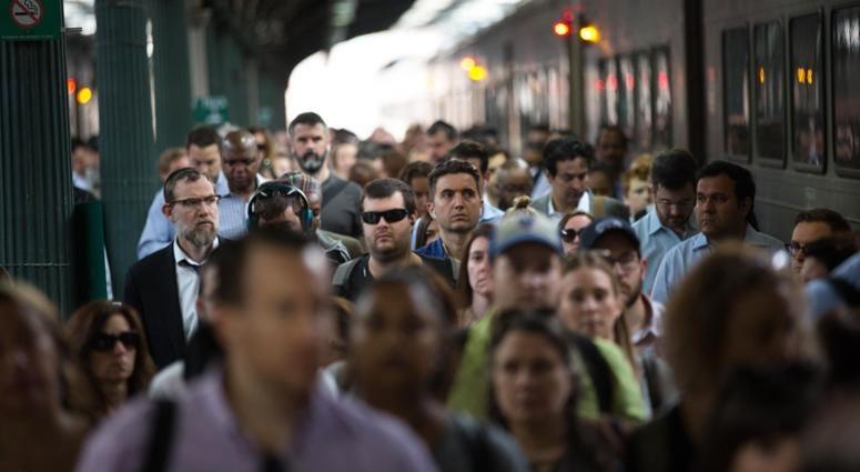 New Jersey Transit commuters