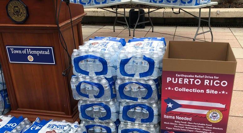 Hempstead Puerto Rico Donations