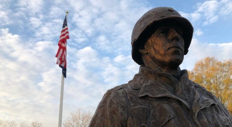Major General Harry Rockafeller Statue