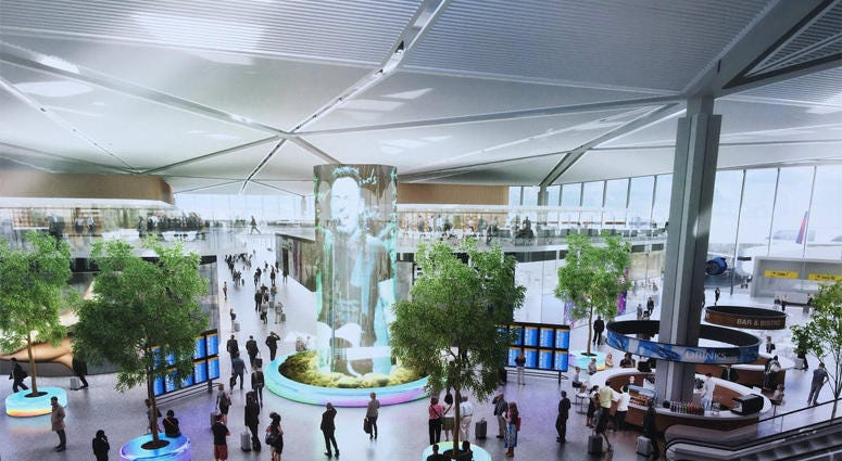 New Newark Airport Terminal