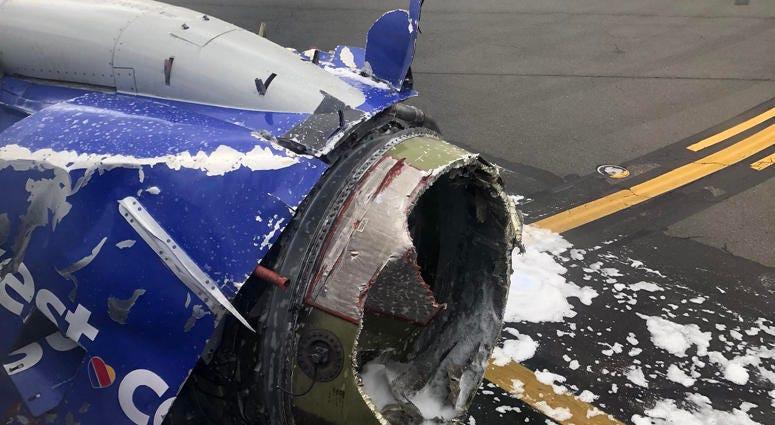 Southwest Airlines Emergency Landing