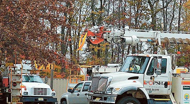 PSE&G utility truck